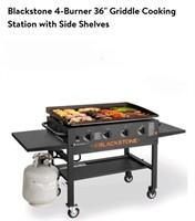 """Blackstone 36"""" 4 Burner Griddle Cooking Station"""
