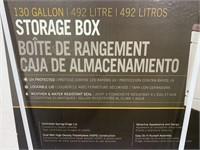 Lifetime 130 Gallon Storage Box