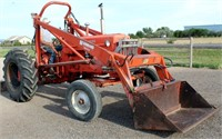 1958 Allis Chalmers D17 - This item will be sold at live auction. More info and pics can be found in the catalog.  If unable to attend, you can place a MAX ABSENTEE BID simply by registering to bid, then go to catalog to bid.  Bidding opens 7/4/20, all Max bids must be placed by 6 am 7/18/20.  If you are the winning bidder, you will be notified immediately after the item is sold to make payment and pick up arrangements.