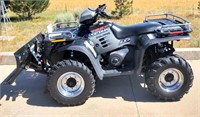 2002 Polaris Sportsman 700 4-Wheeler - This item will be sold at live auction. More info and pics can be found in the catalog.  If unable to attend, you can place a MAX ABSENTEE BID simply by registering to bid, then go to catalog to bid.  Bidding opens 7/4/20, all Max bids must be placed by 6 am 7/18/20.  If you are the winning bidder, you will be notified immediately after the item is sold to make payment and pick up arrangements.