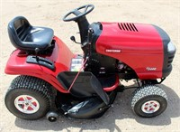 Sears Craftsman Riding Mower - This item will be sold at live auction. More info and pics can be found in the catalog.  If unable to attend, you can place a MAX ABSENTEE BID simply by registering to bid, then go to catalog to bid.  Bidding opens 7/4/20, all Max bids must be placed by 6 am 7/18/20.  If you are the winning bidder, you will be notified immediately after the item is sold to make payment and pick up arrangements.