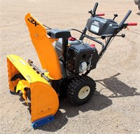 Cub Cadet Snow Blower - This item will be sold at live auction. More info and pics can be found in the catalog.  If unable to attend, you can place a MAX ABSENTEE BID simply by registering to bid, then go to catalog to bid.  Bidding opens 7/4/20, all Max bids must be placed by 6 am 7/18/20.  If you are the winning bidder, you will be notified immediately after the item is sold to make payment and pick up arrangements.