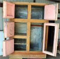 View 2- Tall Oak Ice Box