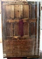 View 6- Tall Oak Ice Box (back side)