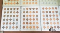 Partial Lincoln Cent Collections (3 Books)