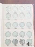 Kennedy Half Dollar Collection '64 - '08