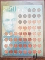 Lincoln Cents '49 - '98
