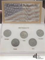 '02 - '04 Denver Mint State Quarter Collection