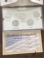 '99 - '01 Denver Mint State Quarter Collection