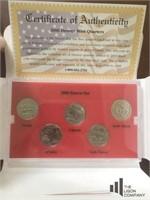 '06 - '08 Denver Mint State Quarter Collection