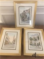 Three Charleston Prints by Jane Jackson
