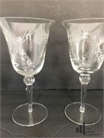 Set of 5 Wine Glasses