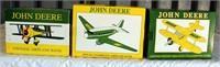 (3) Collector JD Airplane Banks (JD94; JD95; JD96)