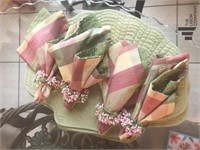Handmade Curtains with Additional Fabric