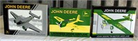 (3) Collector JD Airplane Banks (JD97; JD98; JD99)