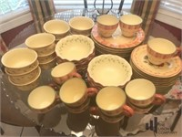 Hand painted Napoli Dish and Drink ware