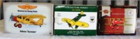 Shell Collector Airplane; (2) Collector Airplane Banks (Oliver & Shell)