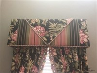 Handmade Curtains and Covered Cornice Boards
