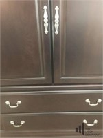 Expresso Colored Entertainment Cabinet