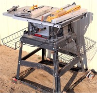 Skil Saw Table Saw, runs, switch does not stay activated.