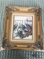 Victorian Gold Toned 8 x 10 Frames