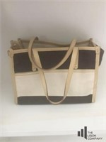 Tan and Brown Handbag by Kate Spade