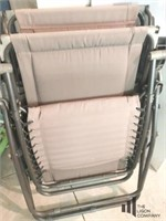 Pair of Reclining Outdoor Chairs