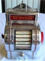 Packard Wall Juke Box, has key