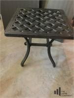 Metal Outdoor Side Table
