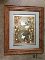 World Map Framed Picture