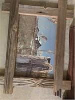Various Vintage Framed Pictures