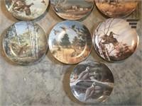 Game Birds Collection Plates