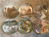 Collectable Plates by Various Artists