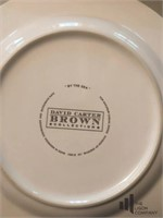 David Carter Brown Lighthouse Collection Plates