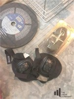 Concrete Circular Saw with Miscellaneous Items