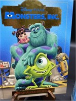 Monsters Inc. read along book, build your Nemo