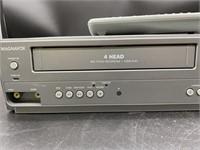 Magnavox DVD/VCR combo player w/ remote