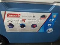 Coleman Xtreme 5 62qt Wheeled Cooler