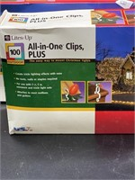 3 boxes of Lites Up, 100 count All in one Clips