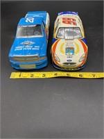 2 Nascar metal model cars, Redlined Dana #20,