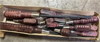 Wood Handle Screwdriver set