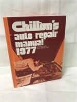 1977 Chiltons auto repair manual