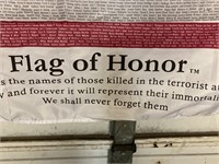 Flag of Honor, fallen 9/11 victims