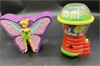 Twinkle Bell Porcelain piggybank, and M&M's