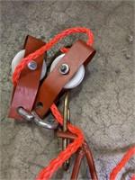 Deer hanger to cut a deer