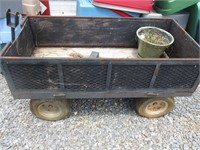 Wagon/With Attachment for Mower