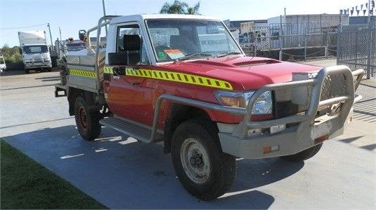 2008 Toyota Landcruiser 78 Workmate 4x4 - Light Commercial for Sale