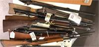 Lot of Asst Rifle Parts Guns