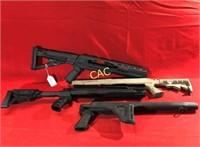 Lot of Asst Rifle & Shotgun Parts Guns