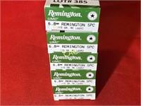 20rds Remington 6.8mm rem spc 115gr